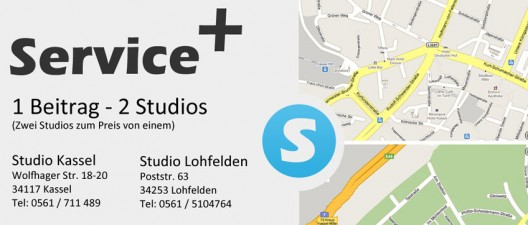 1 Beitrag - 2 Studios