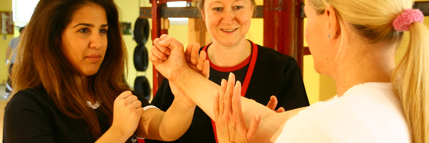 WT Training Frauen in Wing Tsun & Escrima