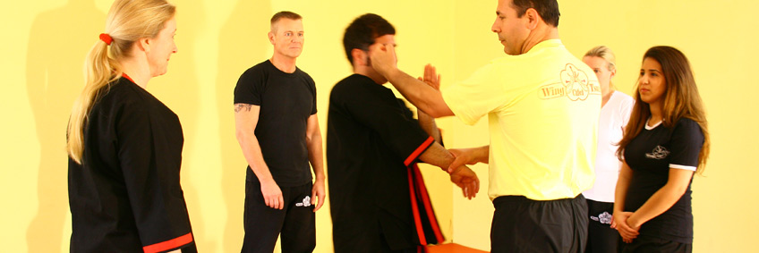WT Training Gruppe in Wing Tsun Training Gruppe