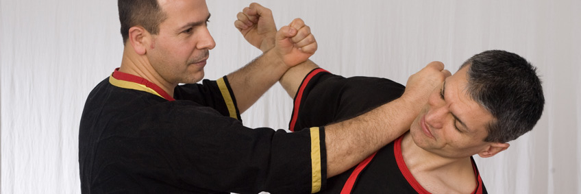 Wing Tsun Pose in Wing Tsun & Escrima