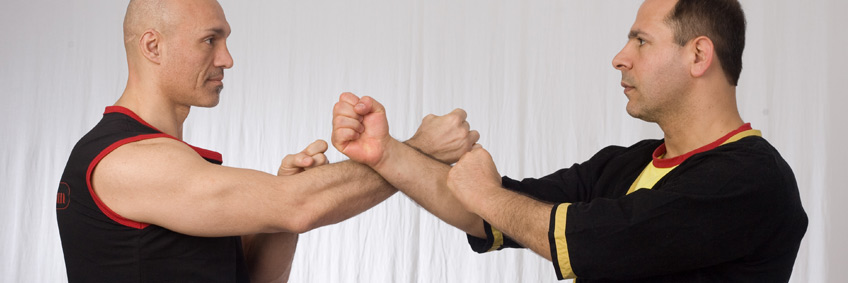 Wing Tsun Pose2 in Wing Tsun & Escrima