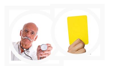 Gelb Karte1 in Abnehmen - aber richtig!